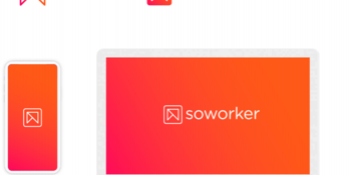 New logo soworker; multiply by sharing
